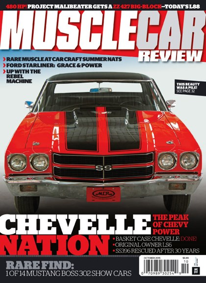 Muscle Car Review Cover - 10/1/2015