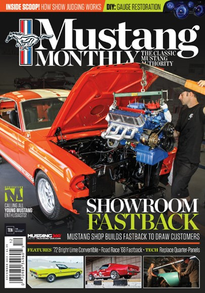 Mustang Monthly Cover - 12/1/2015