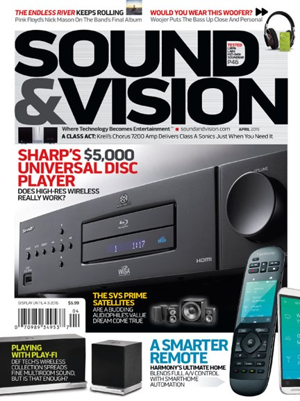 Sound & Vision Cover - 4/1/2015