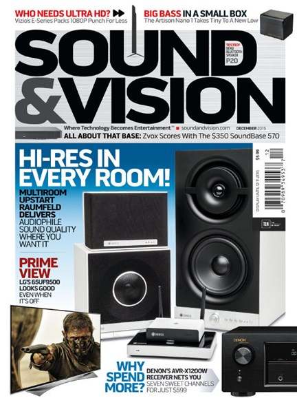 Sound & Vision Cover - 12/1/2015