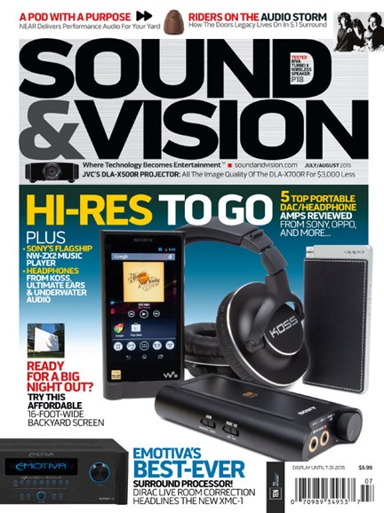 Sound & Vision Cover - 7/1/2015