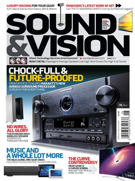 Sound & Vision Cover - 6/1/2015