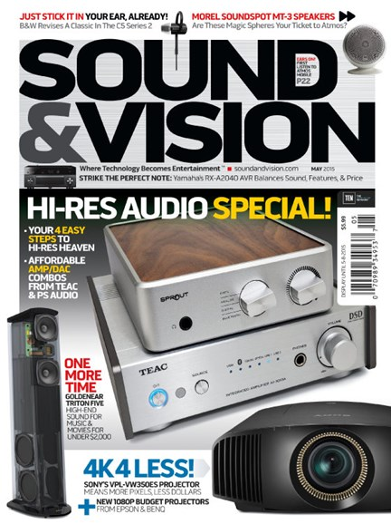 Sound & Vision Cover - 5/1/2015