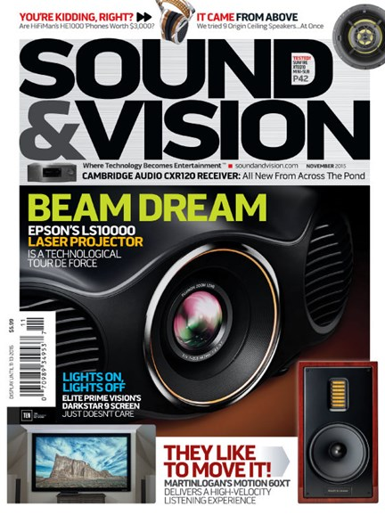 Sound & Vision Cover - 11/1/2015