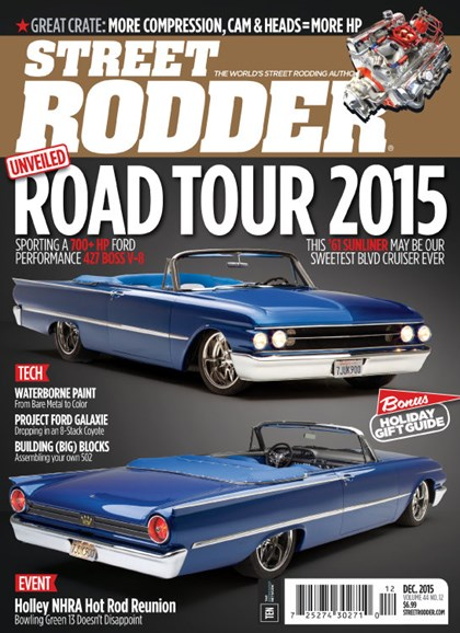 Street Rodder Cover - 12/1/2015