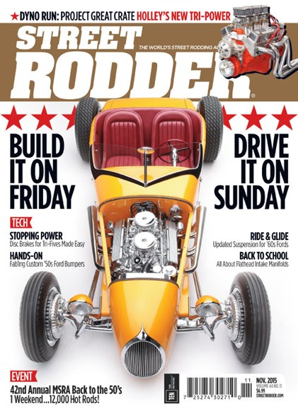 Street Rodder Cover - 11/1/2015