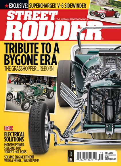 Street Rodder Cover - 10/1/2015