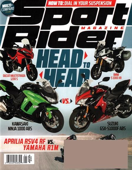 Sport Rider Cover - 12/1/2015