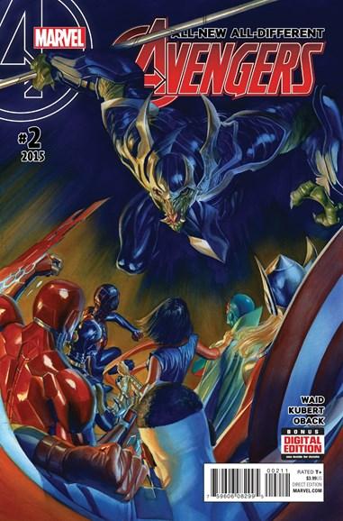 Avengers Cover - 2/1/2016