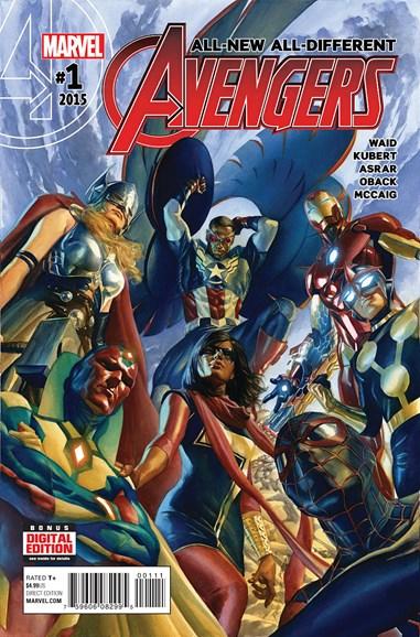 Avengers Cover - 1/1/2016
