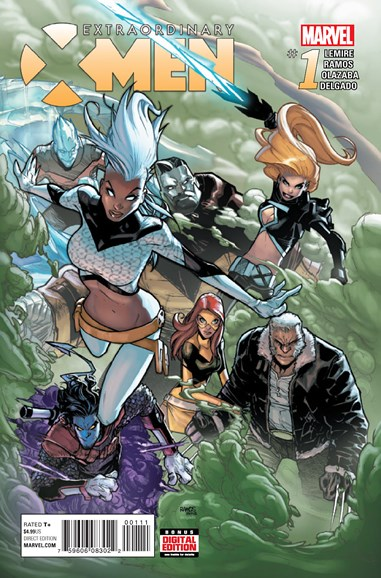 X-Men Gold Cover - 1/1/2016