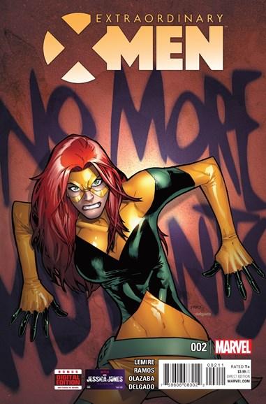 X-Men Gold Cover - 1/15/2016