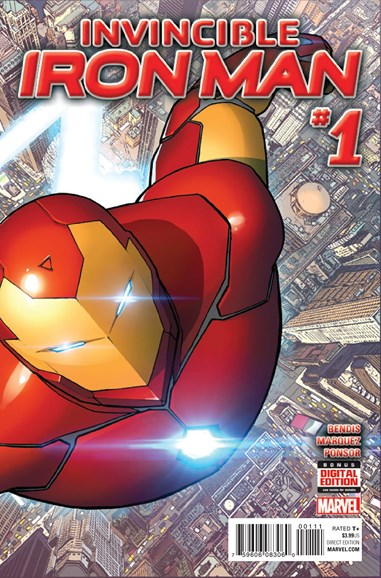 Tony Stark: Iron Man Cover - 12/1/2015