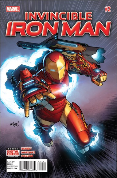 Tony Stark: Iron Man Cover - 12/15/2015