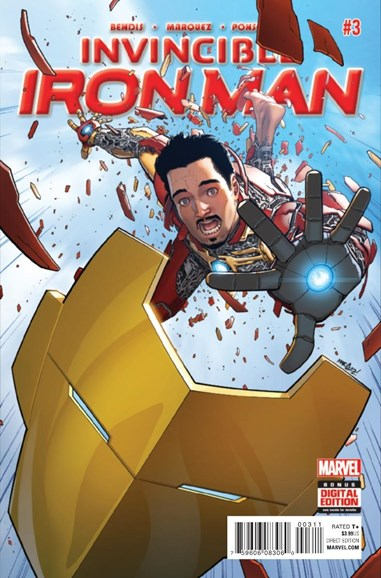 Tony Stark: Iron Man Cover - 1/1/2016