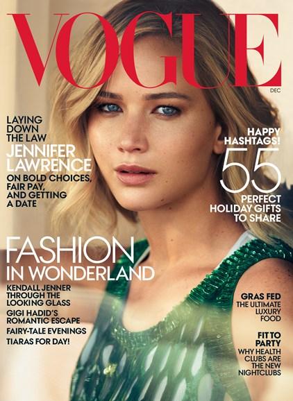 Vogue Cover - 12/1/2015