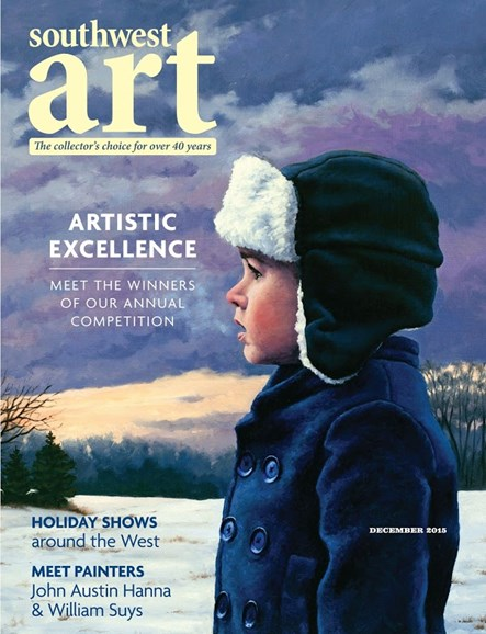 Southwest Art Cover - 12/1/2015