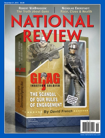National Review Cover - 12/21/2015