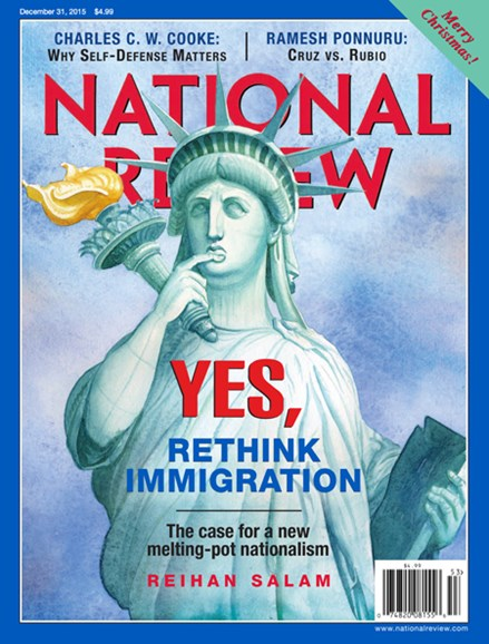 National Review Cover - 12/31/2015