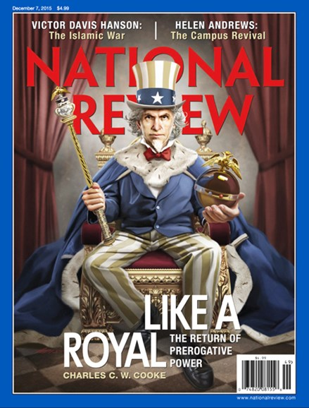 National Review Cover - 12/7/2015