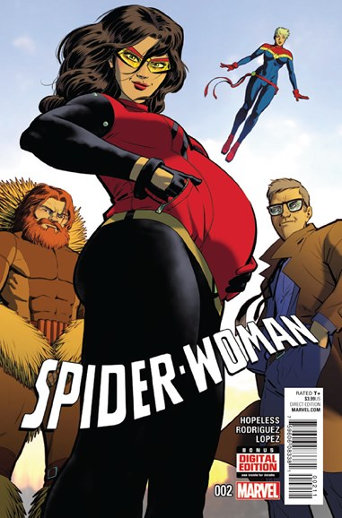 Spider-Woman Cover - 2/1/2016
