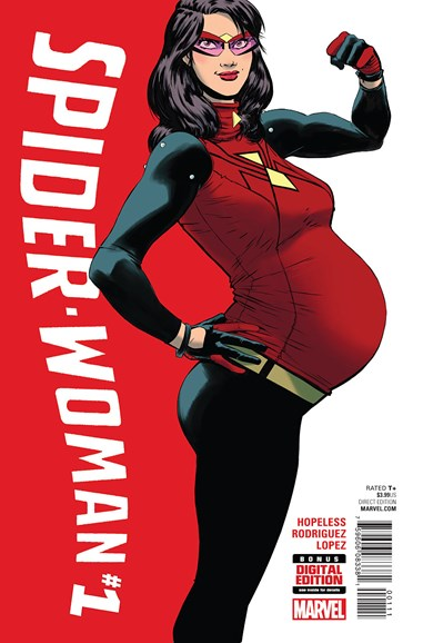 Spider-Woman Cover - 1/1/2016