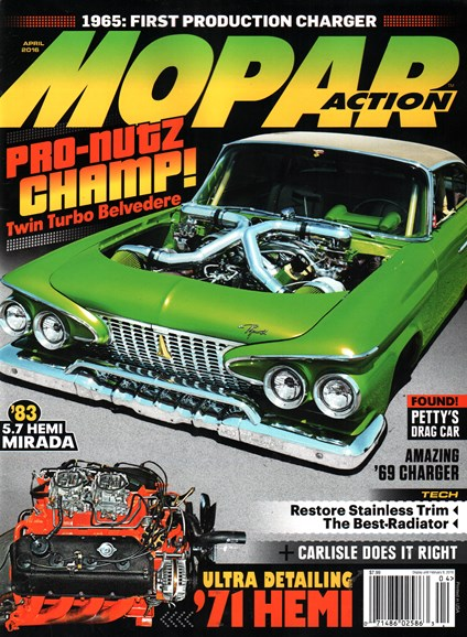 Mopar Action Cover - 4/1/2016