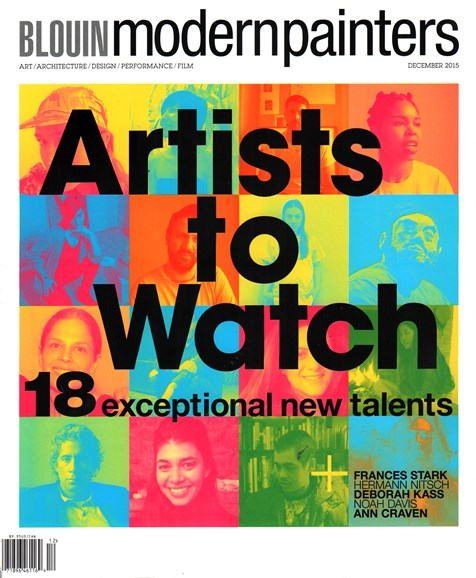 Blouin Modern Painters Cover - 12/1/2015