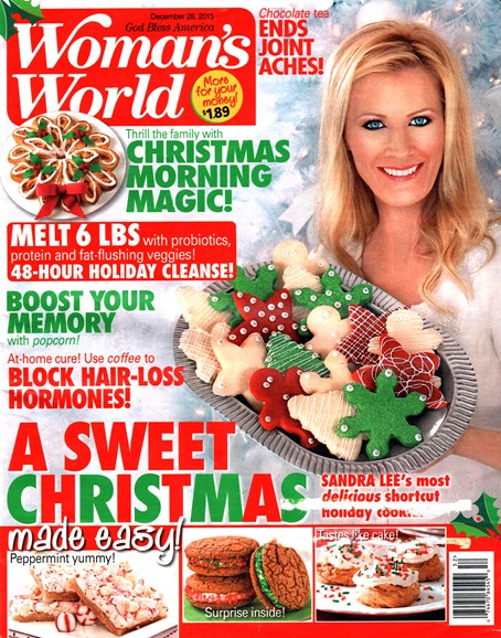 Woman's World Cover - 12/28/2015