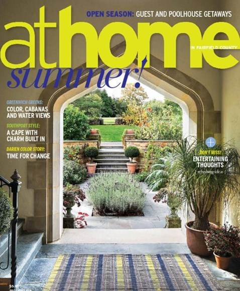 At Home in Fairfield County Cover - 7/1/2015