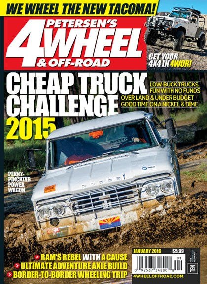 4 Wheel & Off-Road Cover - 1/1/2016