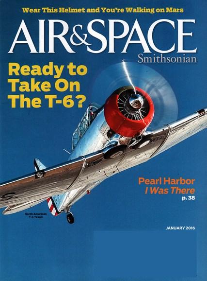Air & Space Cover - 1/1/2016