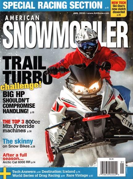 American Snowmobiler Cover - 1/1/2016