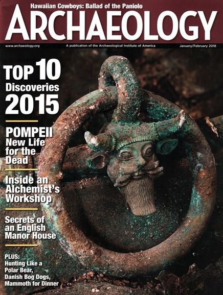 Archaeology Cover - 1/1/2016