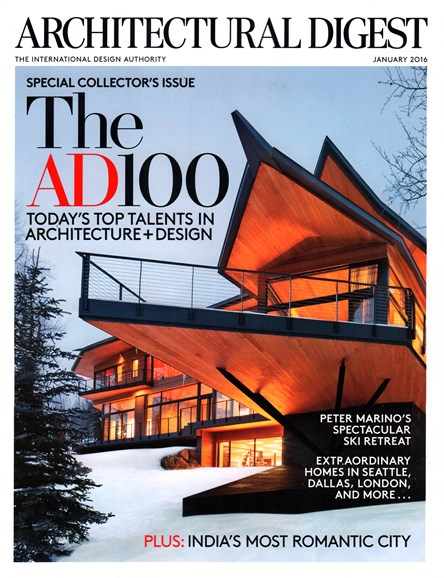 Architectural Digest Cover - 1/1/2016