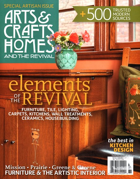 Arts & Crafts Homes Cover - 1/1/2016