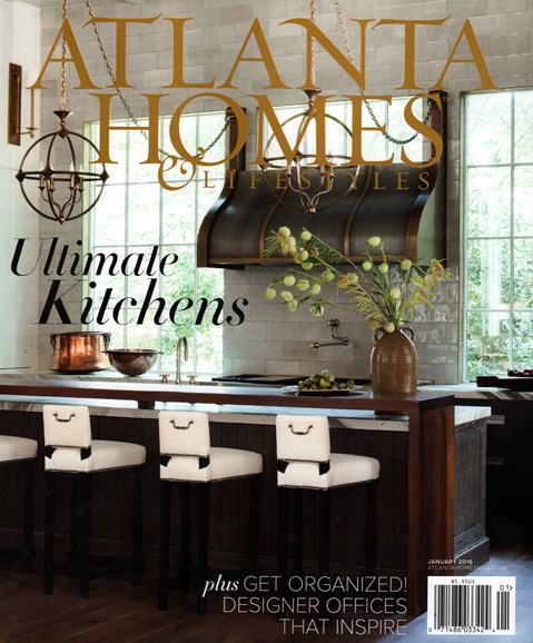 Atlanta Homes & Lifestyles Cover - 1/1/2016