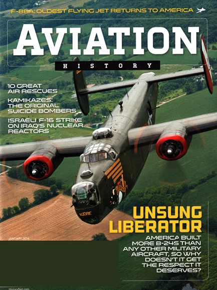 Aviation History Cover - 1/1/2016