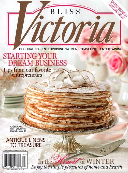 Victoria Cover - 1/1/2016