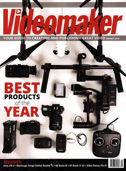 Videomaker Cover - 1/1/2016