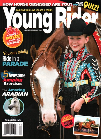 Young Rider Cover - 1/1/2016