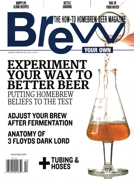 Brew Your Own Cover - 1/1/2016