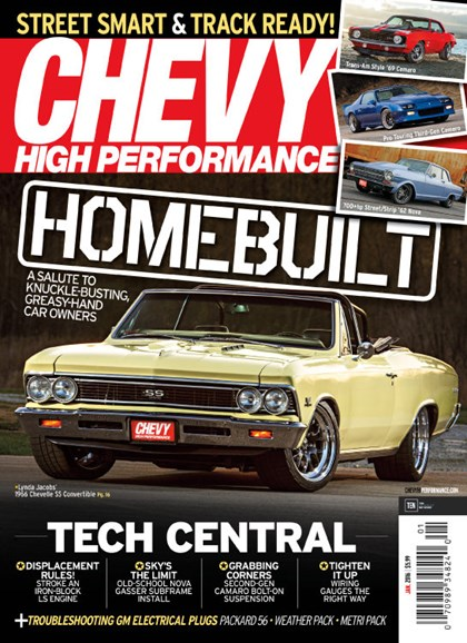 Chevy High Performance Cover - 1/1/2016