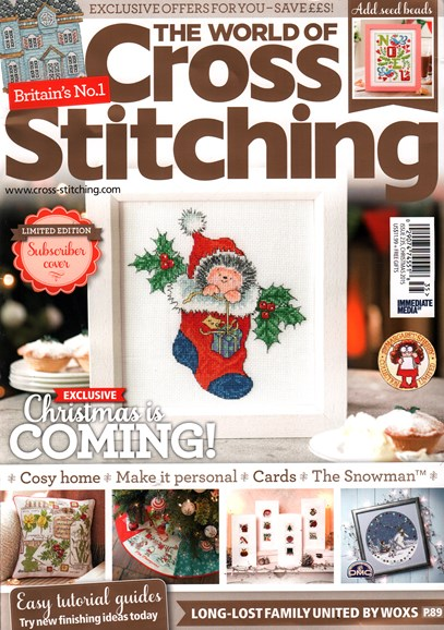 The World of Cross Stitching Cover - 12/1/2015