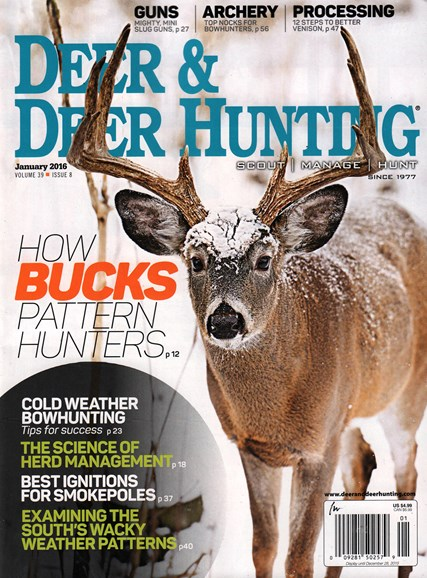 Deer & Deer Hunting Cover - 1/1/2016
