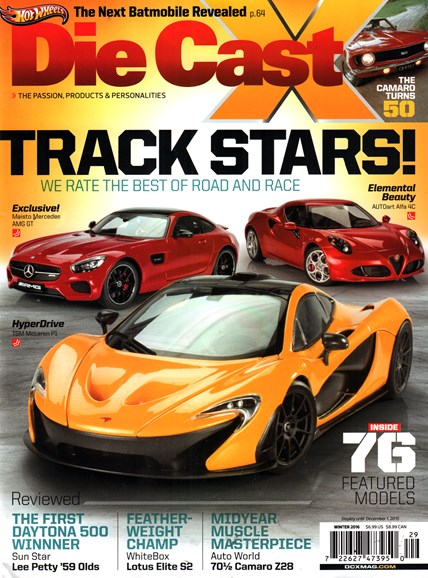 Diecast X Cover - 1/1/2016
