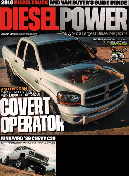 Diesel Power Cover - 1/1/2016