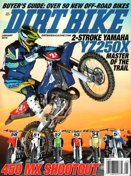 Dirt Bike Cover - 1/1/2016