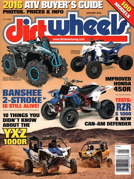 Dirt Wheels Cover - 1/1/2016