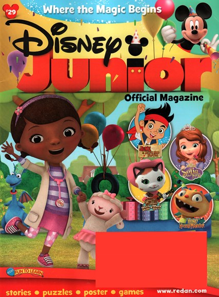 Disney Junior Cover - 1/1/2016